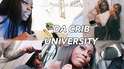VLOG: a day in the life at DCU (da crib university) ft ISEE Hair