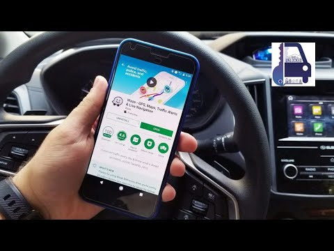 2020 Waze Set Up And Walk Through | Android Auto And Apple Car Play How To  |