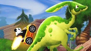 Dinosaur Park: Prehistoric Racing - Panda's Car | Eftsei Gaming