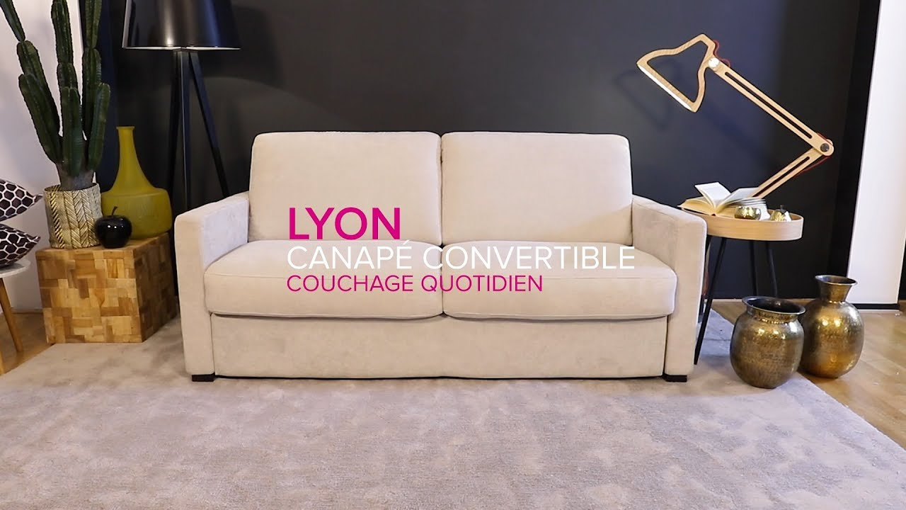 laminuteconvertible ep 4 lyon canap convertible. Black Bedroom Furniture Sets. Home Design Ideas