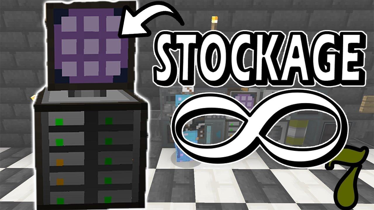Stockage Applied Energistics Minecraft Survie Moddé Ep 7