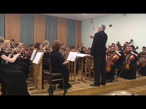 Симфонический оркестр ДМШ им Гайдна на конкурсе 21-05-2017