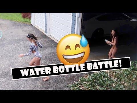 Water Bottle Battle 😅(WK 382) | Bratayley
