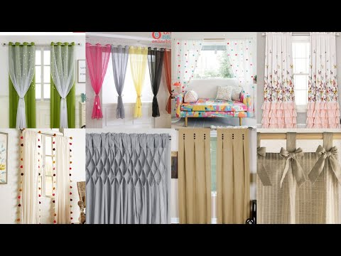 Beautiful & Stylish bedroom living room curtains 2020  latest curtain ideas for home
