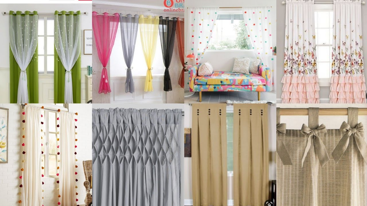 Beautiful Stylish Bedroom Living Room Curtains 2020 Latest Curtain Ideas For Home Youtube