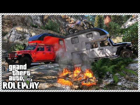 GTA 5 Roleplay - Funny Camping Trip   RedlineRP #413