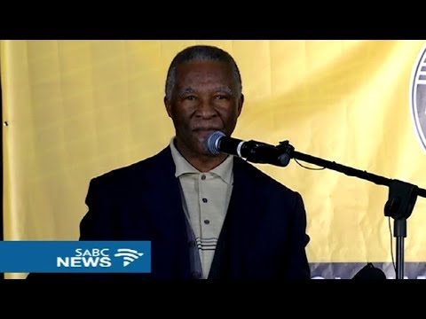 Mbeki addresses ANC Veterans consultative conference