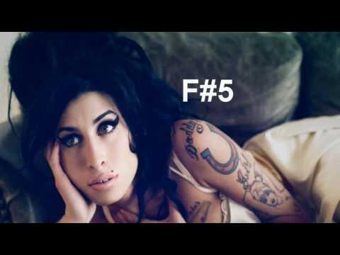 Amy Winehouse Vocal Range D3-Eb6