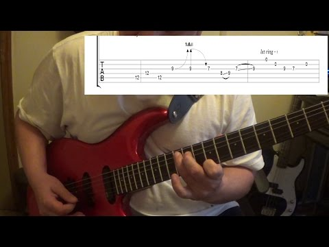 Blackberry Smoke - Pretty Little Lie - Guitar Lesson with Tabs and backingtrack