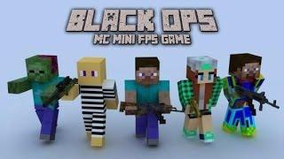 [iOSアプリ紹介4] Black OPS:MC Mini FPS Gameをやってみた!