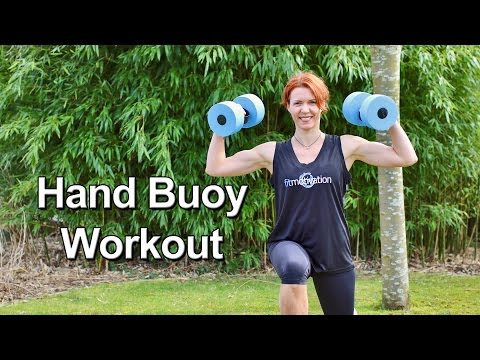 Aqua Hand Buoy Workout