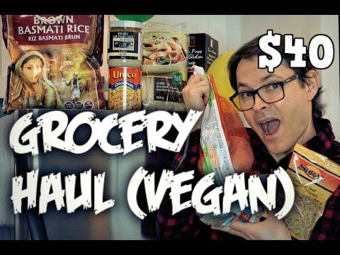 Grocery Haul (Vegan) * $40 Budget * Clean & Healthy * No Frills