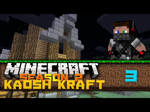 Connor's Minecraft KaoshKraft SMP |S2: Ep:003| Building 101 Ft/ FancyBluPants