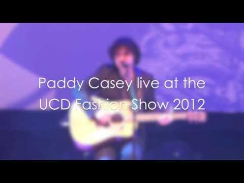 Paddy Casey live at the UCD Fashion Show 2012