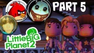 LBP2 Community 5: Angry Birds Bomb Survival Returns, Kill Justin Bieber, Beware of Jeff the Killer