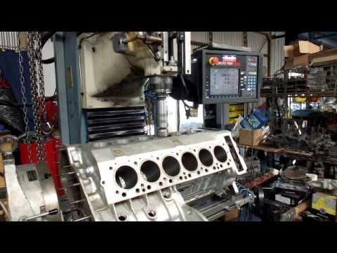 Lamborghini Cylinder Boring On The Prototrak Dpm3 Youtube