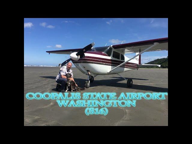 Copalis State Airport, Washington (S16)