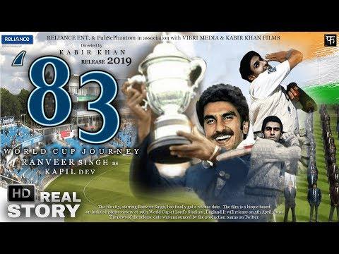 """83 THE WORLD CUP JOURNEY | RANVEER SINGH as KAPIL DEV | 2019 | REAL STORY | OFFICIAL TRAILER TEASER"