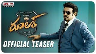 Ruler Telugu Movie (2019) | Teaser
