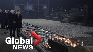 Holocaust memorial: 75th anniversary of the liberation of Auschwitz | LIVE