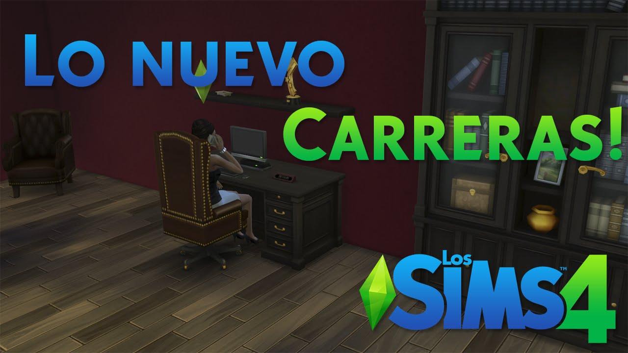 Los Sims 4 Carreras De Deportes Y Negocios Youtube