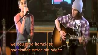 Justin Bieber- As long as you love me traducida lyrics LIVE acoustic