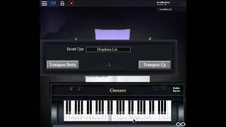 Spring rain - Ilya Polyakov ROBLOX Piano