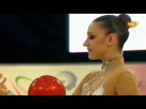 Evgenia Kanaeva ball EC 2012