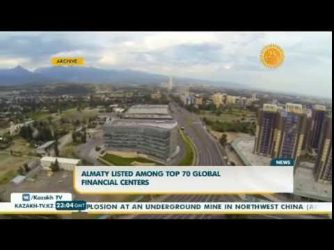 Almaty listed among top 70 global financial centers