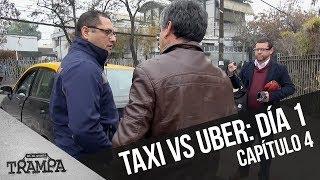 Taxi versus Uber: El primer día | En su propia trampa | Temporada 2017