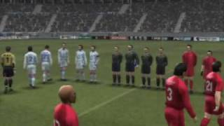 Pro Evolution Soccer 2008 - Entrée de stade - PS2