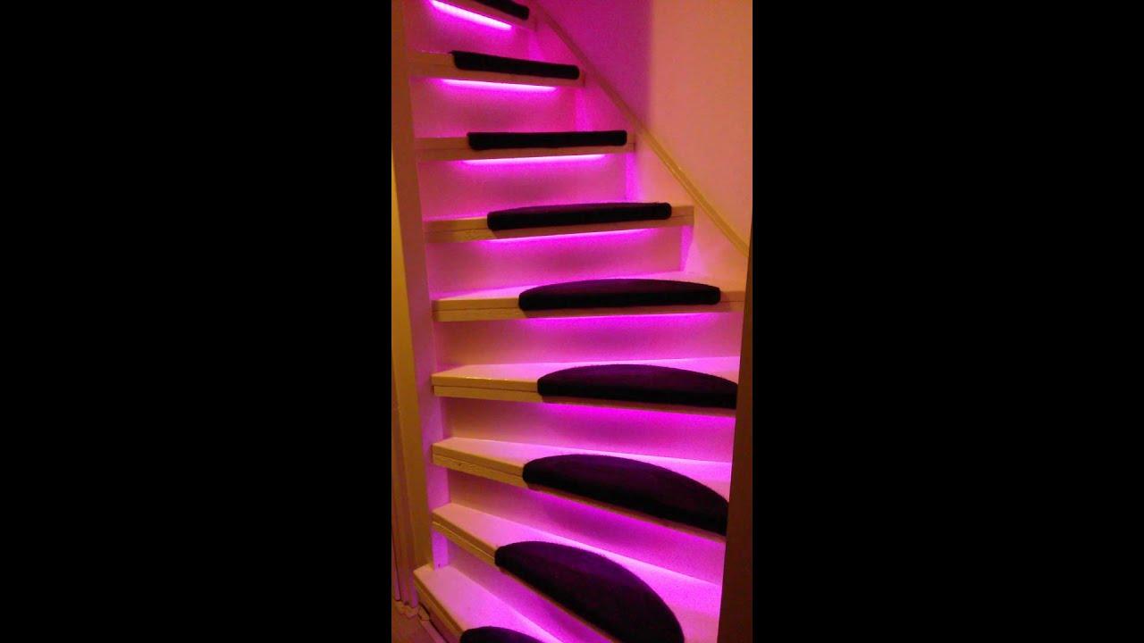 RGB Trap verlichting - YouTube