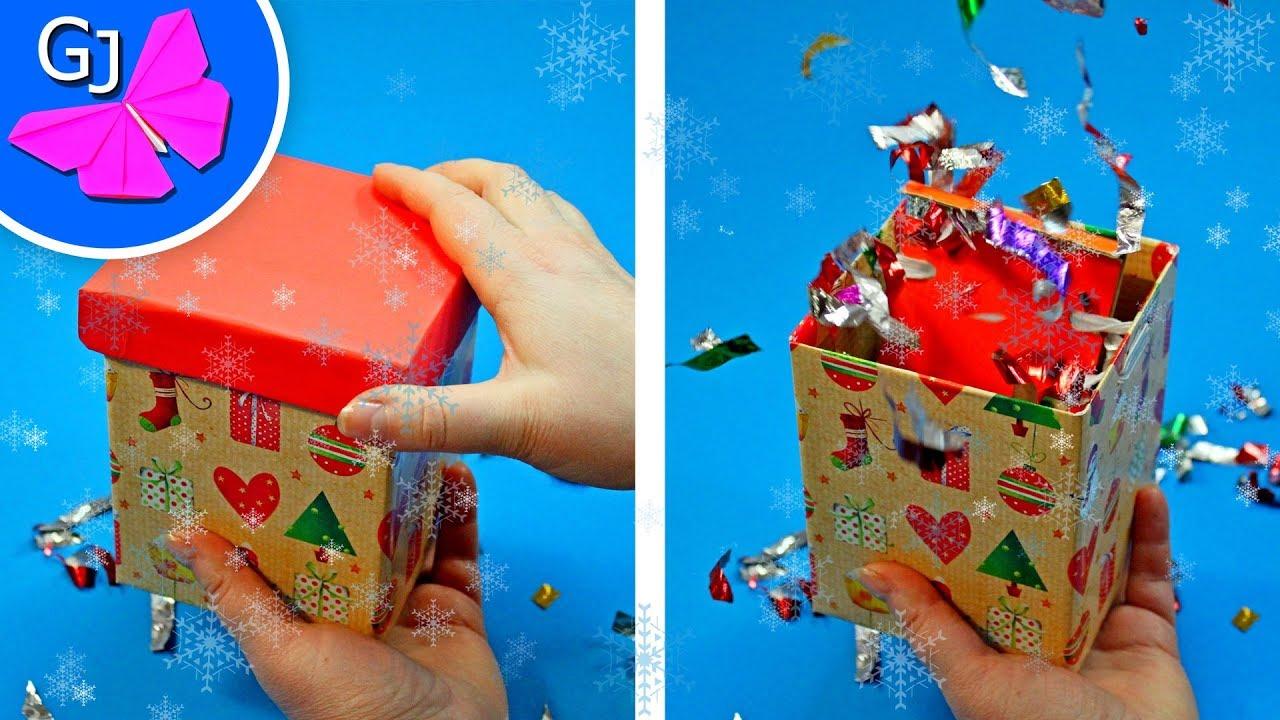 DIY Взрывная Коробочка с сюрпризом своими руками