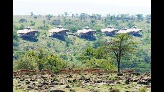 Sir Richard Branson's Mahali Mzuri Safari Camp in Kenya