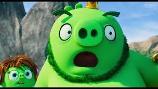 Chuck steals the Keycard Scene   THE ANGRY BIRDS MOVIE 2 2019 Movie Clip