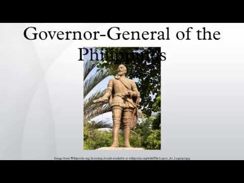 Governor-General of the Philippines