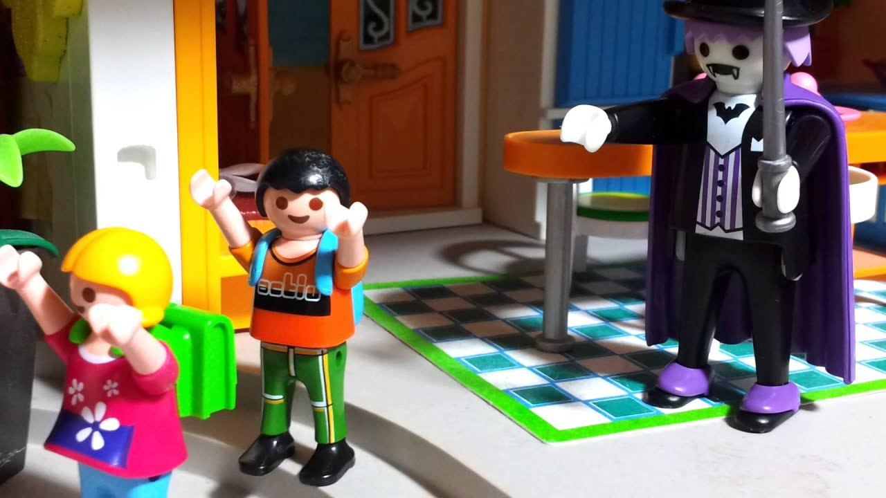Die Halloweenparty im Playmobil Haus Movie Puppenhaus