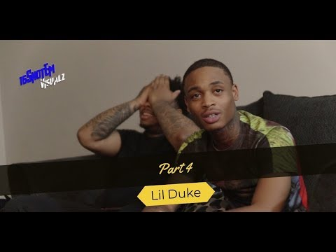 Lil duke On Chicago world news, Listening to opps? Mixtape & hearing Disses Being played in Parties.