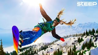 STEEP: EPIC FUN TIMES WITH FRIENDS - STEEP FUNNY MOMENTS & FAILS