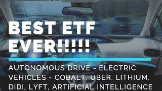 ETF STOCK TO BUY IN 2018 - AUTONOMOUS DRIVE & ELECTRIC VEHICLE INVESTMENT