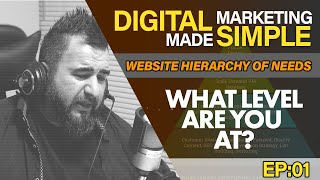 Case Study - Website Hierarchy of Needs - Digital Marketing Made Simple EP01