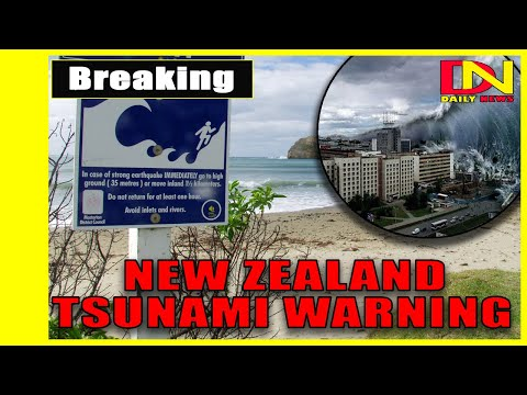 New Zealand tsunami warning: Alert issued as FOUR earthquakes rock Pacific Ocean.