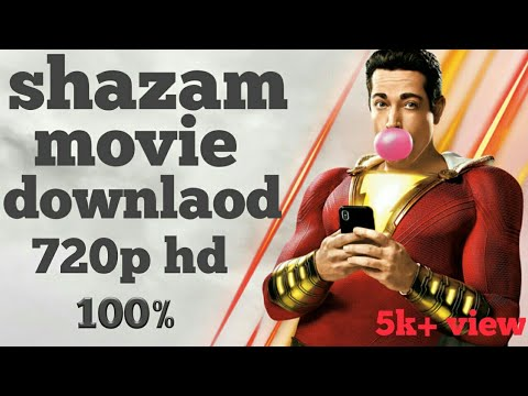 Download How to download shazam movie hindi in hd 720p bluray |Movies Track|