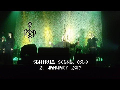 Wardruna Live January 21st, 2017 @ Sentrum Scene, Oslo