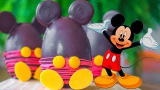 MICKEY MOUSE PARTY CAKE RECIPE  Easy Recipes To Do With Kids