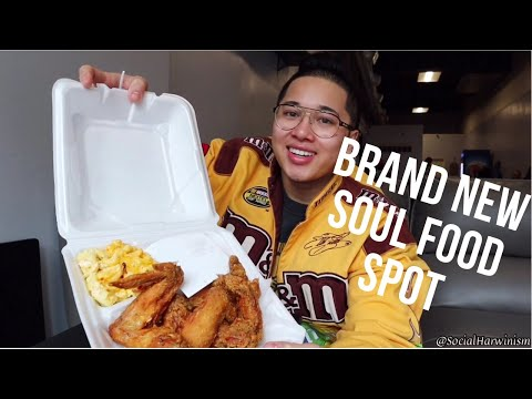 THE FIRST SOUL FOOD SPOT IN MY HOMETOWN! CONNECTICUT EATS Ep. 6
