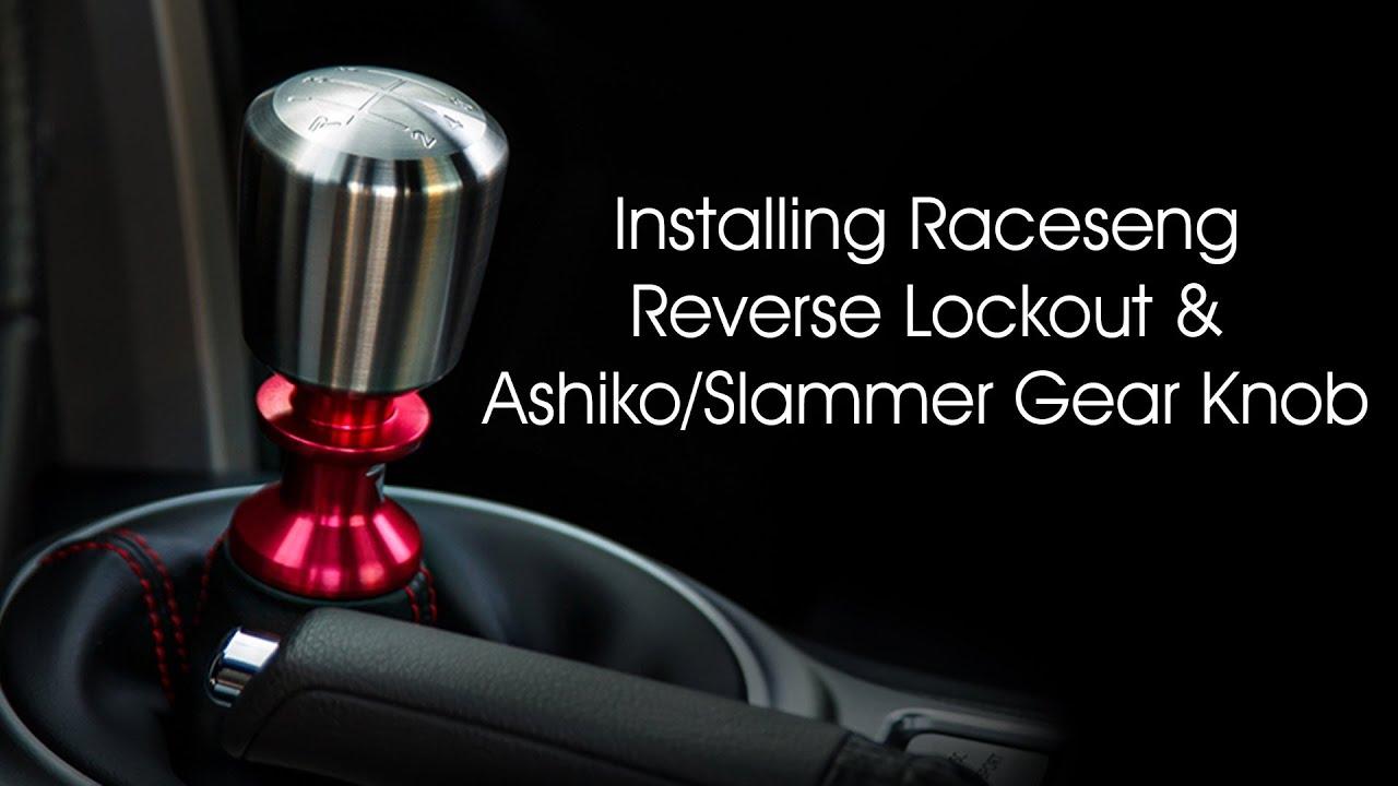 Installing Raceseng Reverse Lockout And Ashiko Slammer