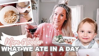 WHAT WE EAT IN A DAY| EASY MEAL IDEAS FOR TODDLERS & MOM| COOK WITH ME 2020| Tres Chic Mama