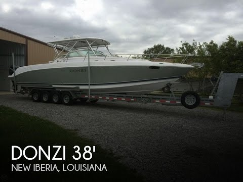 [SOLD] Used 2008 Donzi 38 ZSF Sportfish Cruiser In New Liberia, Louisiana