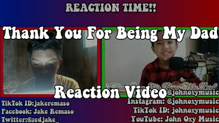 REACTING TO JOHN OXY's THANK YOU FOR BEING MY DAD - Jake Remaso Vlogs